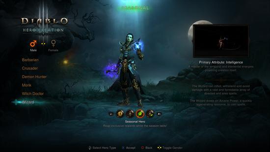 Diablo III anuncia las temporadas para consolas de nueva generación