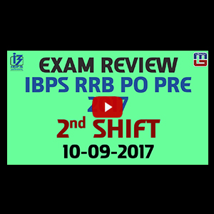 Exam Review With Cut Off | IBPS RRB PO PRE 2017 | 2nd Shift