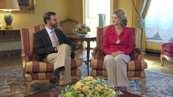 The interview with Prince Guillaume and his fiance Countess Stephanie de Lannoy