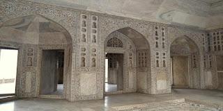 Taj Mahal from the inside