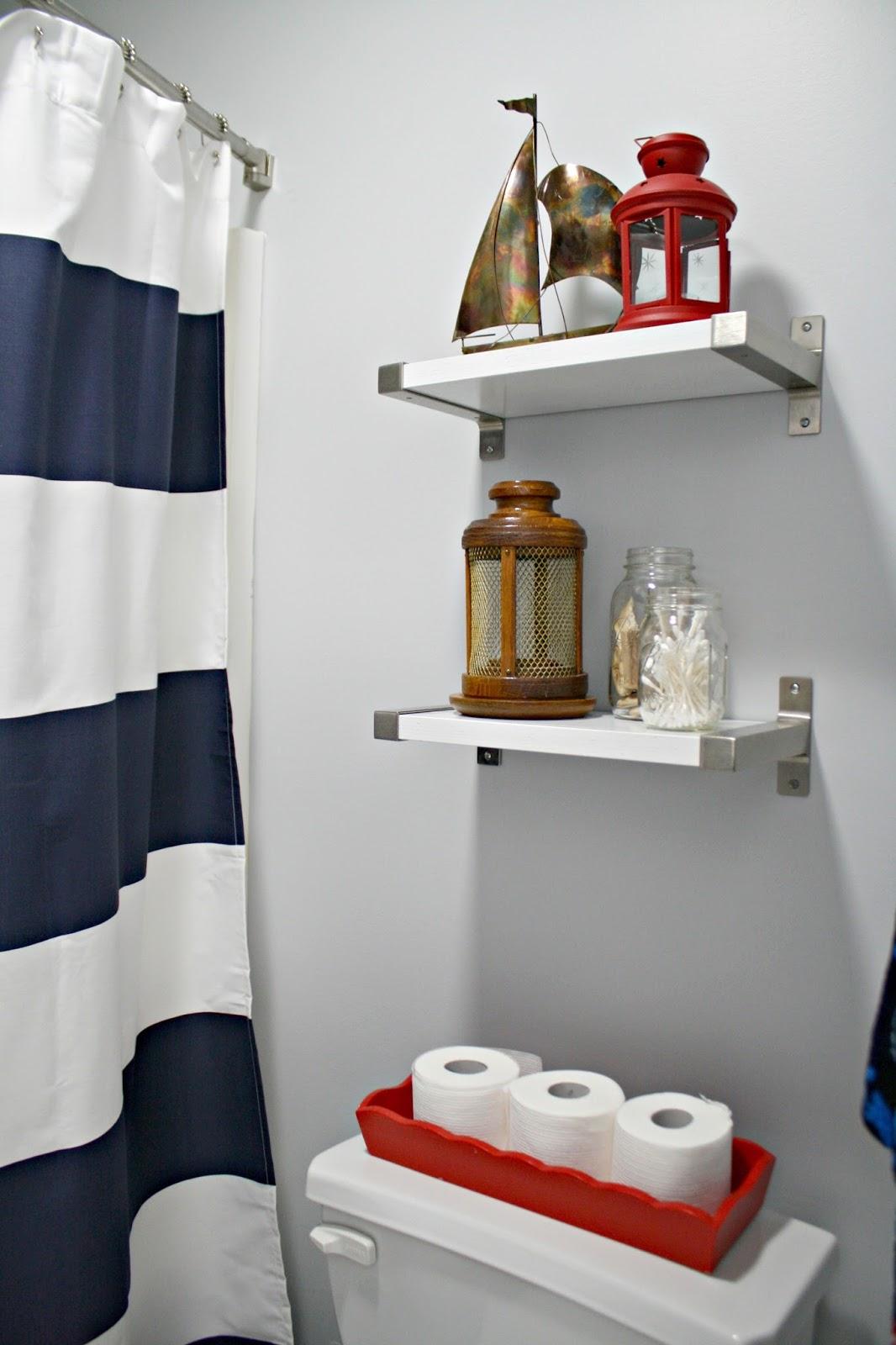 Shelves Over Toilet