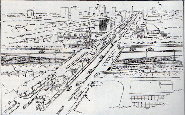 Sketsa Terowongan Casablanca - Konstruksi, November 1992