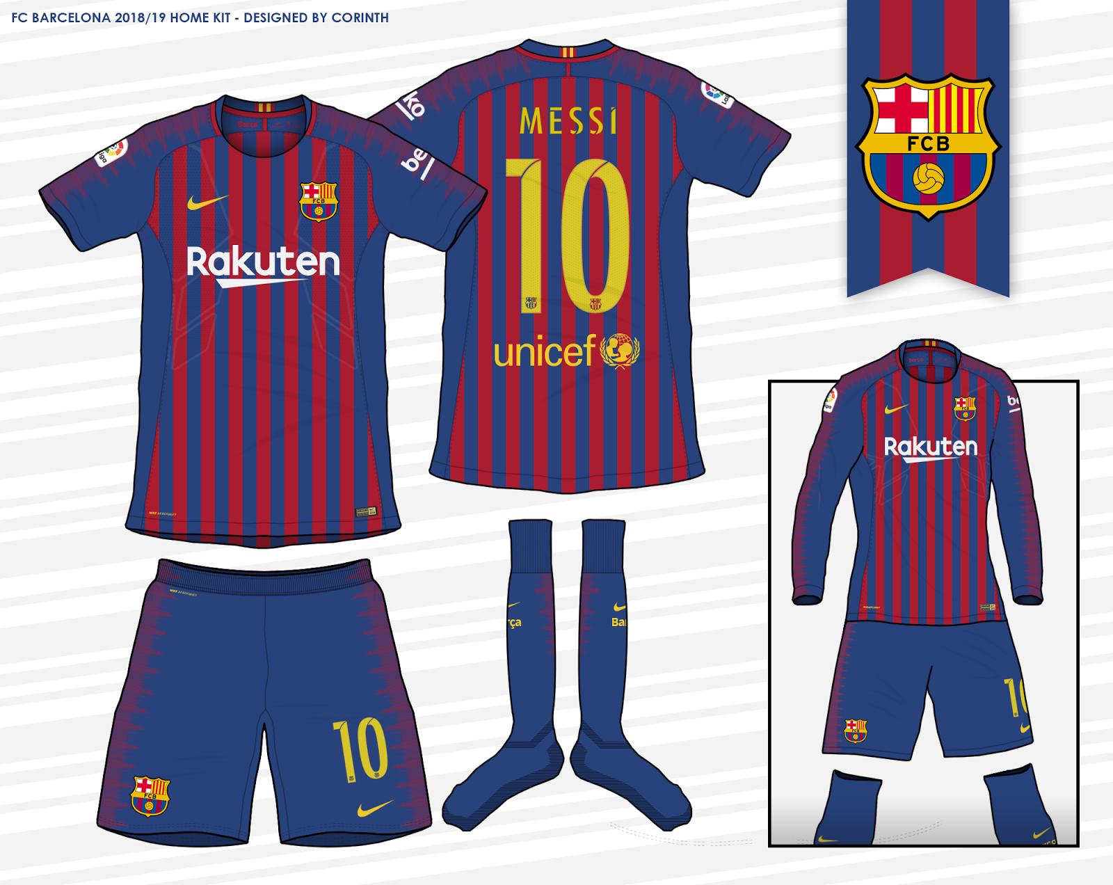 5929125cd Barcelona 2018 19 Home Kit according to leaks
