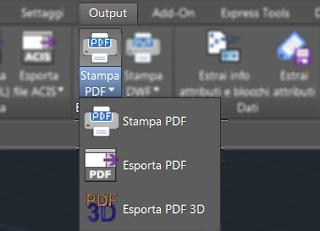 l'icona del comando exportpdf3d