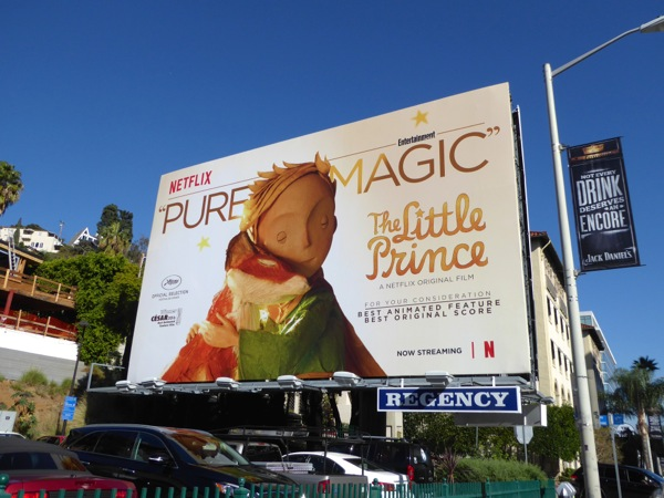Little Prince For your consideration billboard