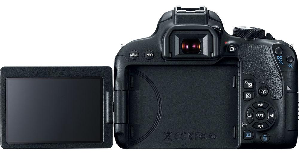 Canon EOS 800D с поворотным экраном