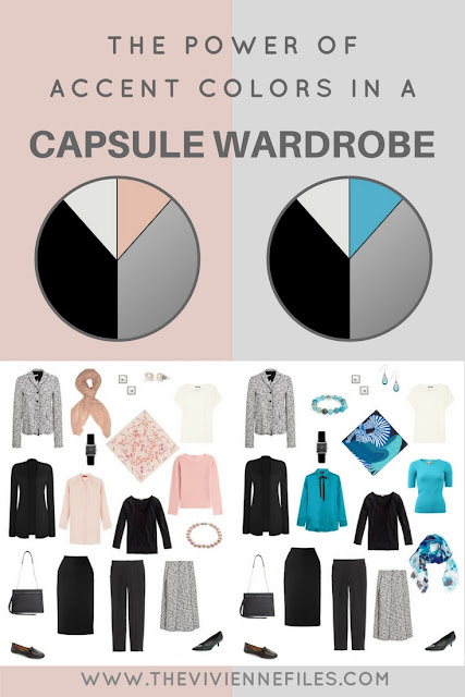 The power of accent colors in the capsule wardrobe blush - What is accent color ...