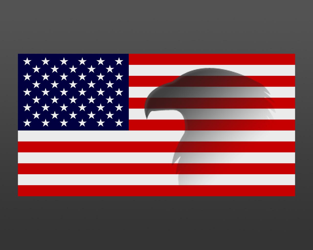clip art american flag eagle - photo #31