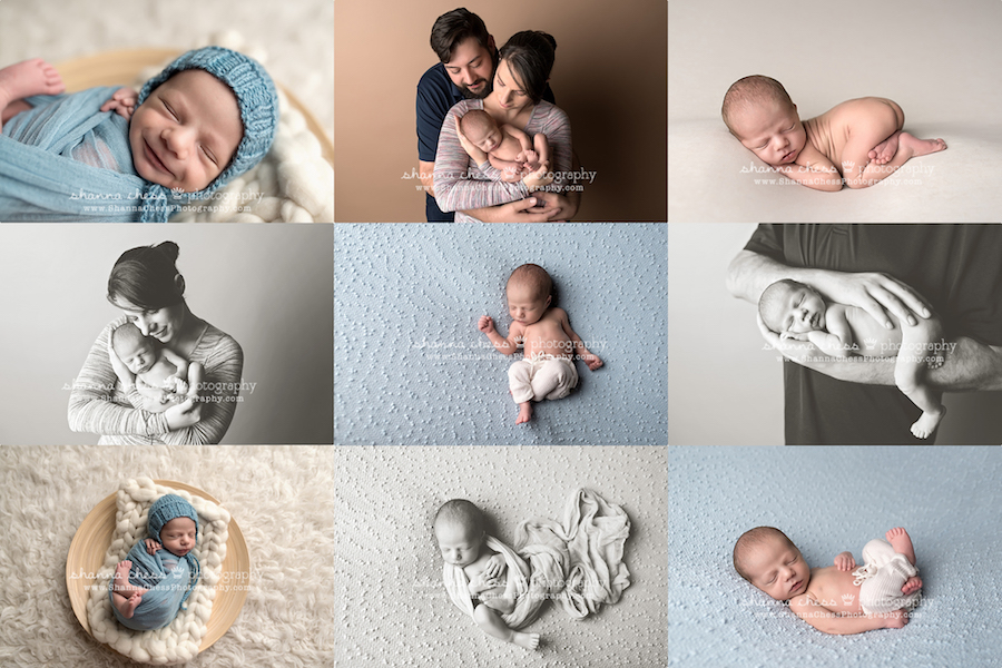 eugene, oregon family newborn photographer