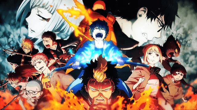 Rin Okumura dan Yukio Okumura berjuang melawan iblis