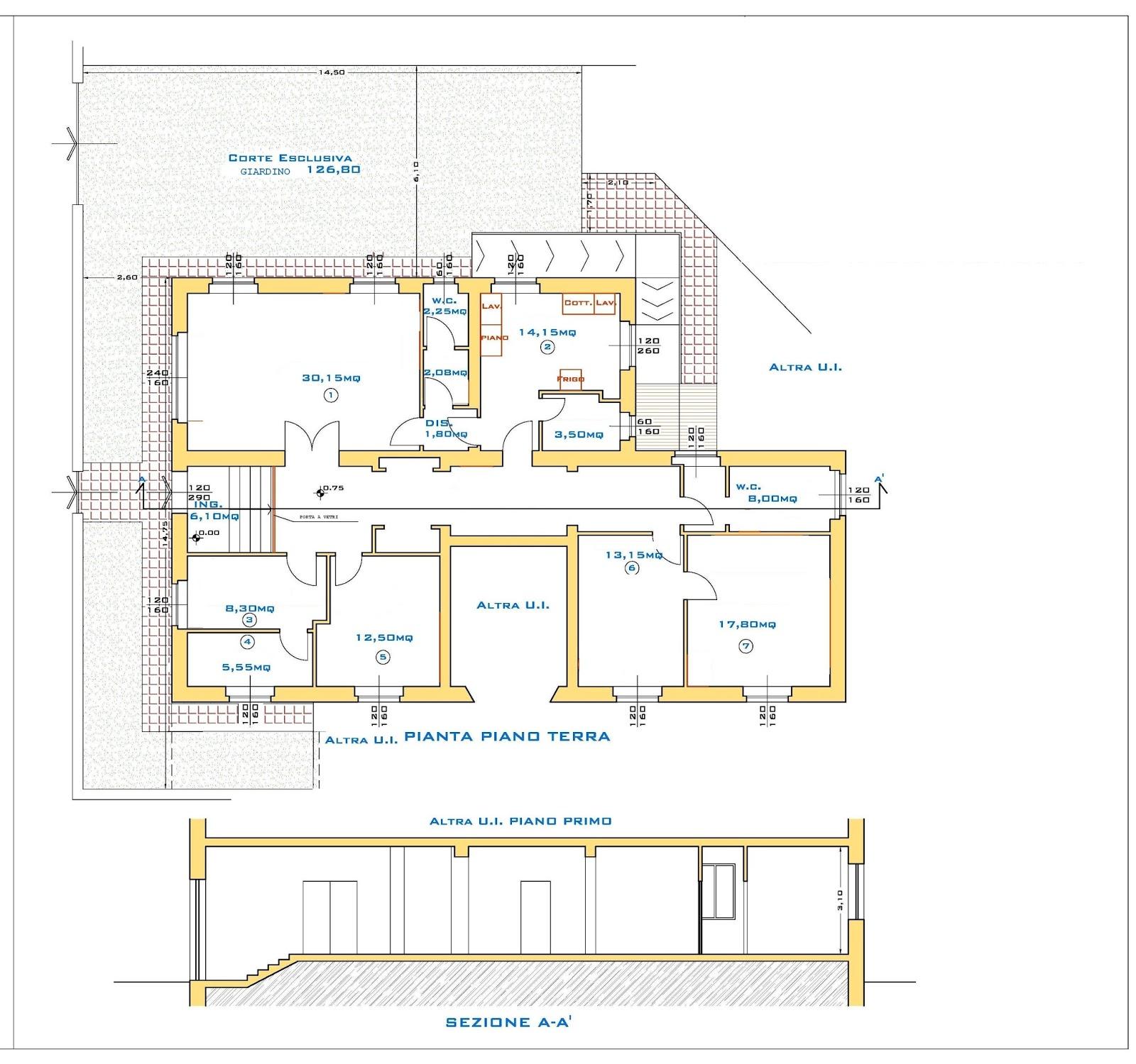 Immobiliare a grosseto blog portale delle case in for Planimetrie delle case con struttura in metallo