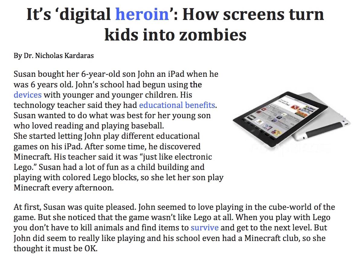 First Year English Reading 9 Tech Kids Magazine Article