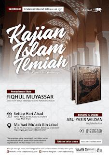 Kajian Rutin Ma'had Mu'adz Bin Jabal Al Atsariy Ciwaru
