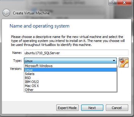 Sql Server knowledge sharing blog: SQL Server on Linux step