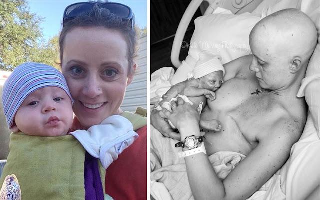 Η ζωή χαμογελά στην 31χρονη μητέρα που πάλεψε με τον καρκίνο.