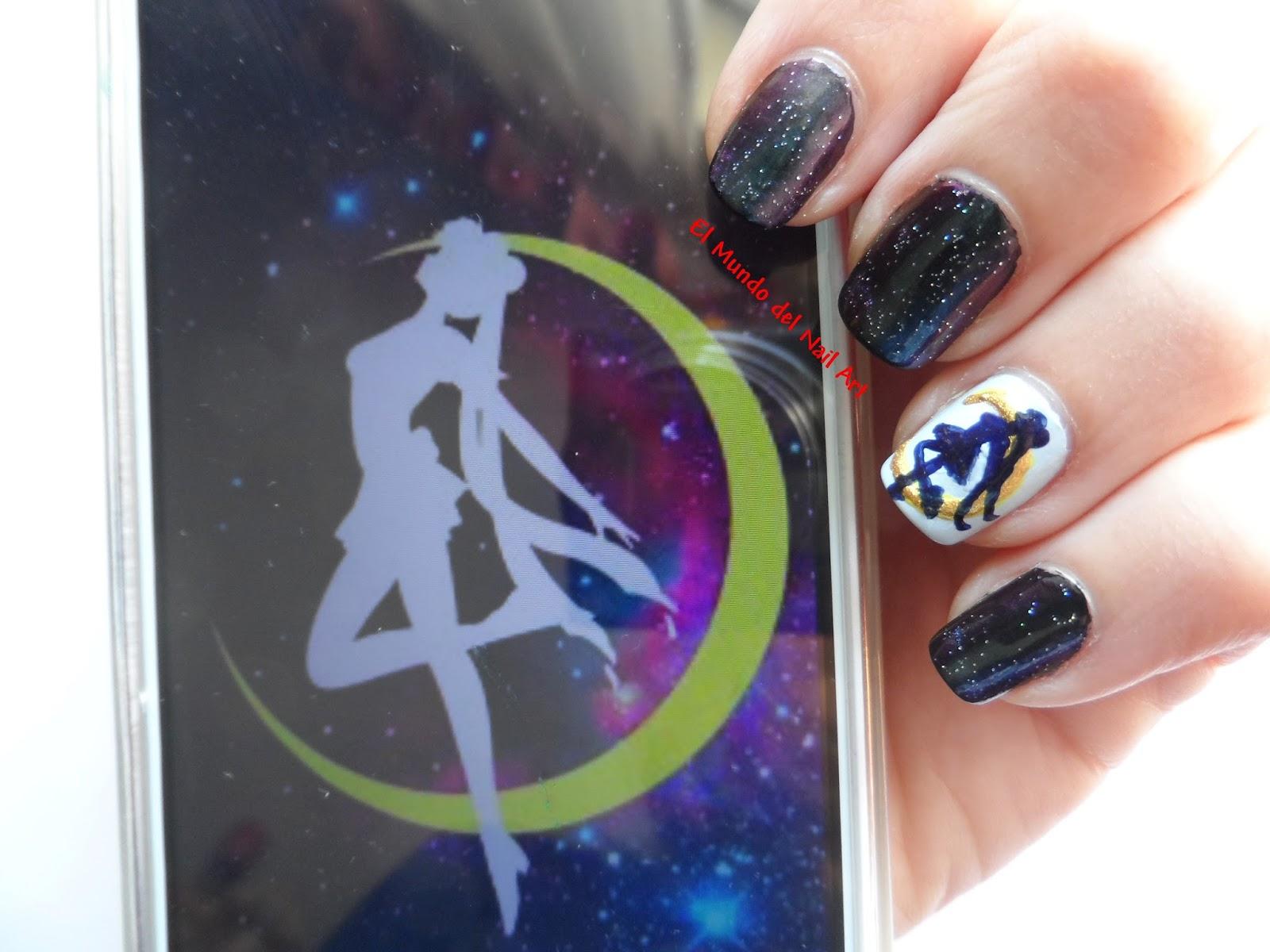 El Mundo Del Nail Art Manicura Sailor Moon