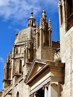 Detalle de la Catedral de Toledo.