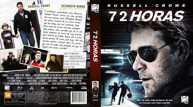 Capa Blu-ray 72 Horas