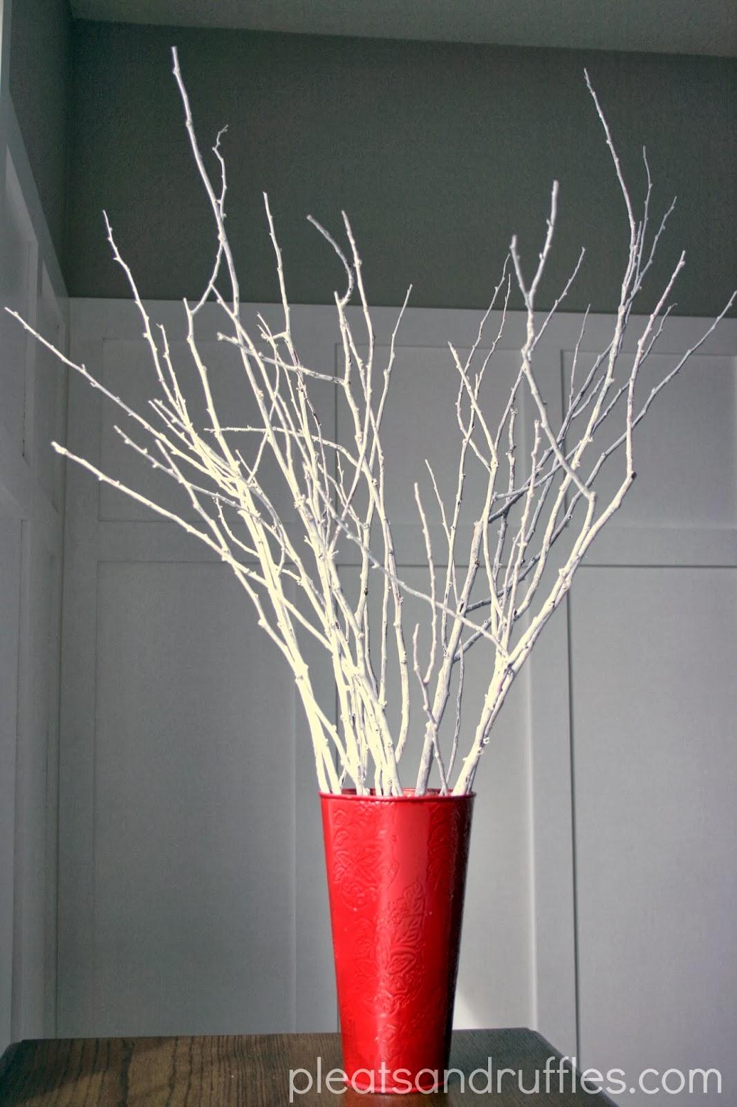 Winter Wonderland Branches Tutorial