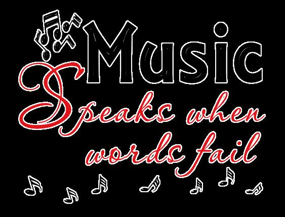 Graphic Groupies Music Word Art