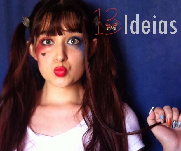 fa76ae34c 13 Ideias  Cosplay Harley Quinn Arlequina (Parte 1)
