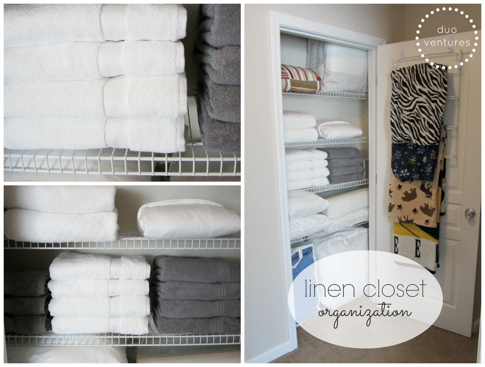 Linen Closet Organizer Systems Duo Ventures Organization