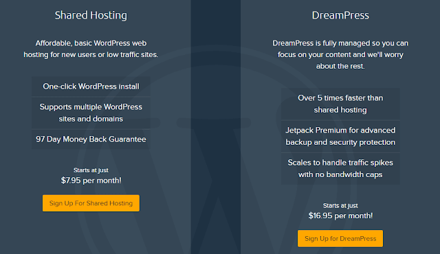 Dreamhost WordPress Hosting Company