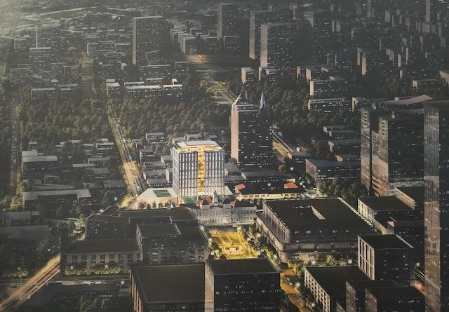 Thiết kế Trụ sở UBND mới  thành phố