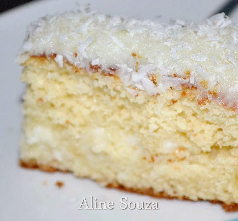 massa de bolo, bolo gelado