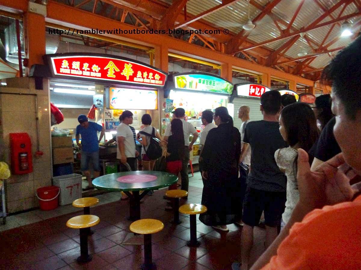 Jin Hua Fish Head Bee Hoon, Maxwell Road Food Centre, Singapore