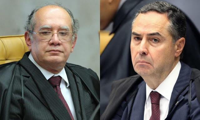 Gilmar Mendes e Luís Roberto Barroso batem boca e trocam ofensas durante julgamento