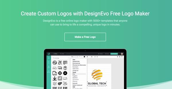 How To Design A Logo Online Designevo Logo Maker Review Noobslab Tips For Linux Ubuntu Reviews Tutorials And Linux Server