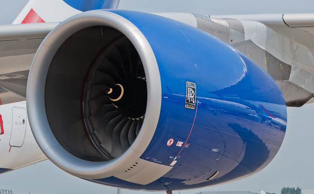 Rolls-Royce Trent 1000 Installed on