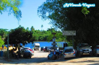 Estacionamento em Caraíva