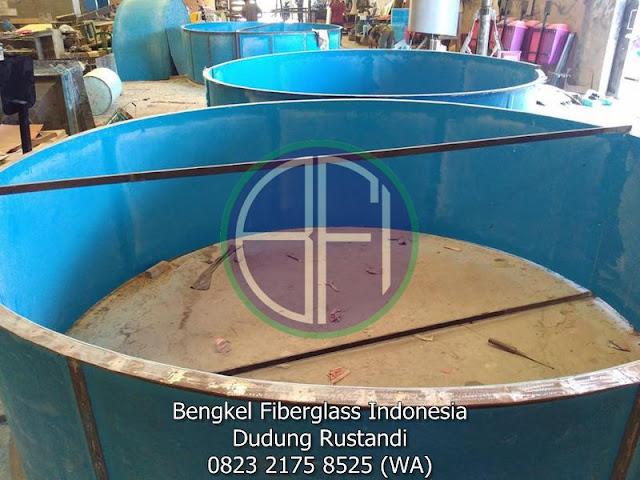 tangki fiberglass bentuk tabung