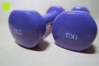 Kennzeichnung: Songmics 2er Set Kurzhanteln Gymnastik Hantel verschiedene Gewichte und Farben auswählbar