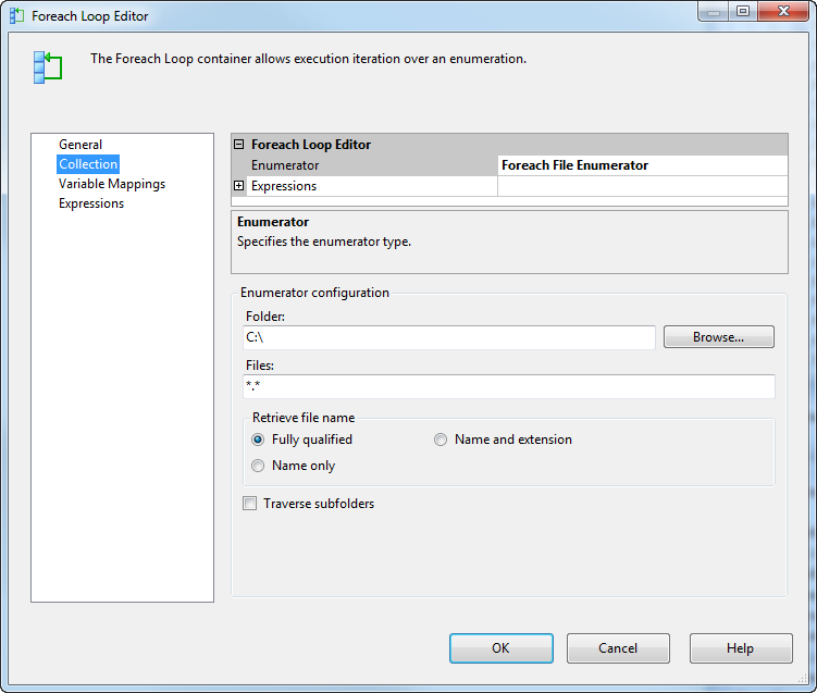 Another SQL Blog - Jason Yousef: SSIS Process files that has