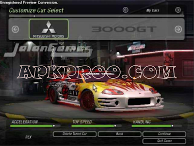 Need For Speed Underground 2 ISO/CSO Terbaru