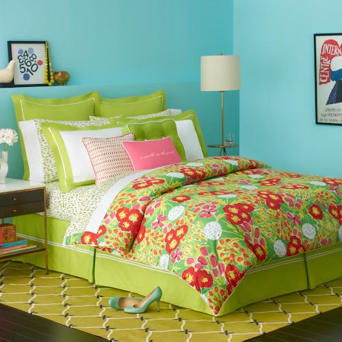 Pink Pineapple Kate Spade Bedding