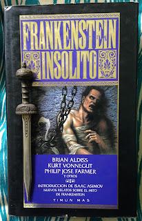 Portada del libro Frankenstein insólito, de varios autores