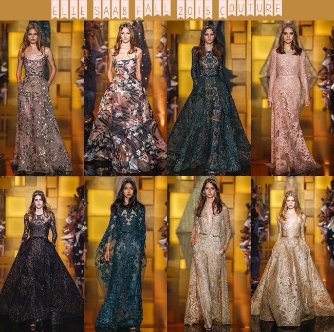 ELIE SAAB Fall 2015 Couture: Dazzling Princess