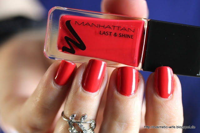 Manhattan last & shine 610 - red-tastic