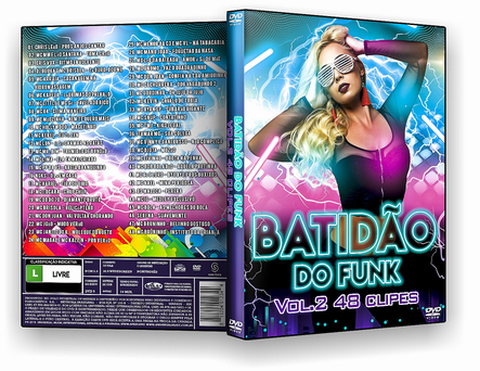 CAPA DVD – Batidão Do Funk Vol.2 48 Clipes – DVD-R