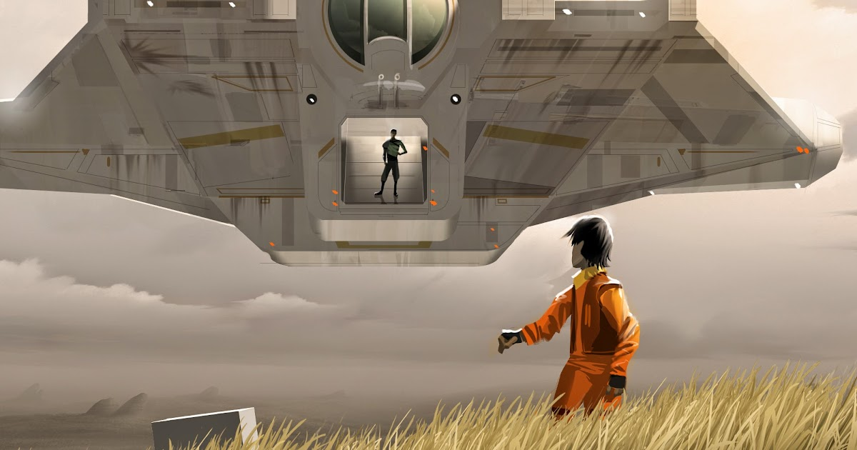 Concept Art From Star Wars Rebels In A Far Away Galaxy