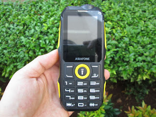 hape antik Asiafone AF7B baterai besar senter terang