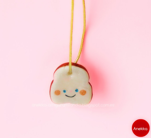 happy  sandwich necklace