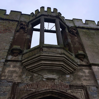 Castle window in Duckett's Grove