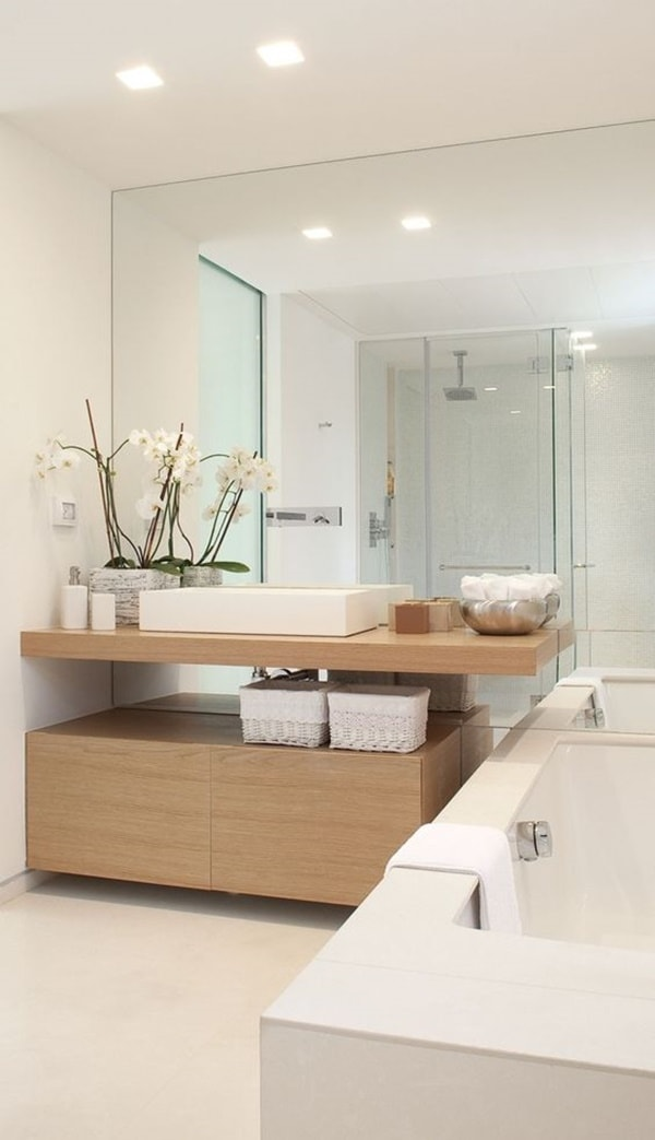 Solutions To Decorate Small Bathrooms 7