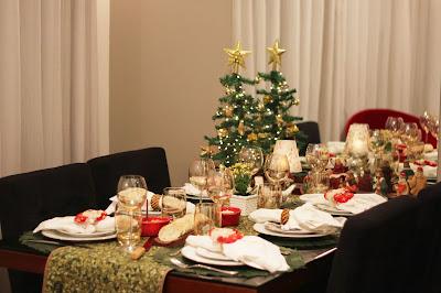 Aprenda a organizar uma mesa de Natal elegante