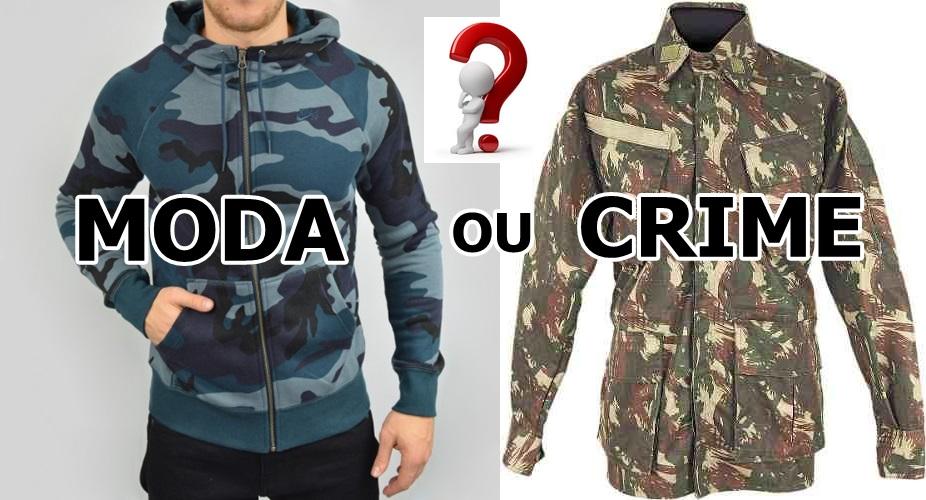 Usar Roupa Camuflada é Crime ou Não   - Ânderson Pará 10 d35043f1d44